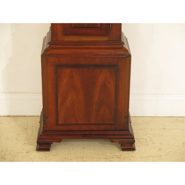 Approx: 25 Years Old Details: Beveled Glass Door High Quality Construction Pediment Top w. Finials 18 C. Design...