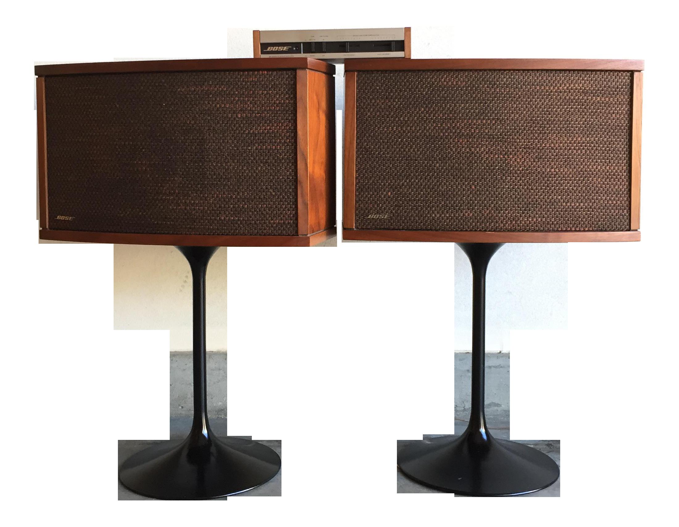 vintage 1978 bose 901 series iv speakers stands equalizer manual rh chairish com bose speaker stands ufs-20 manual Bose Outdoor Speakers