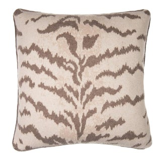 Calabria Cashmere Pillow, Natural For Sale