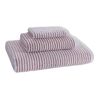 Sullivan Bath Towel in Burnt Sienna For Sale