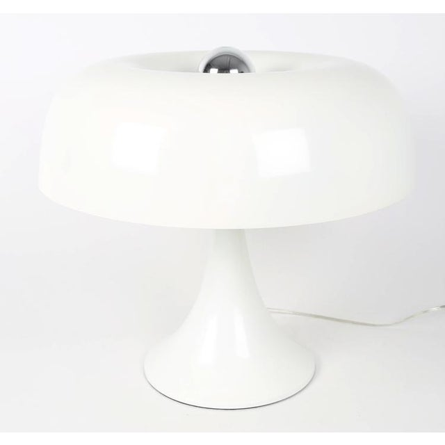 Mid-Century Modern 1970'S VINTAGE ROBERT SONNEMAN MUSHROOM TABLE LAMP For Sale - Image 3 of 7