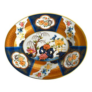 Vintage Tole Heritage Platter For Sale