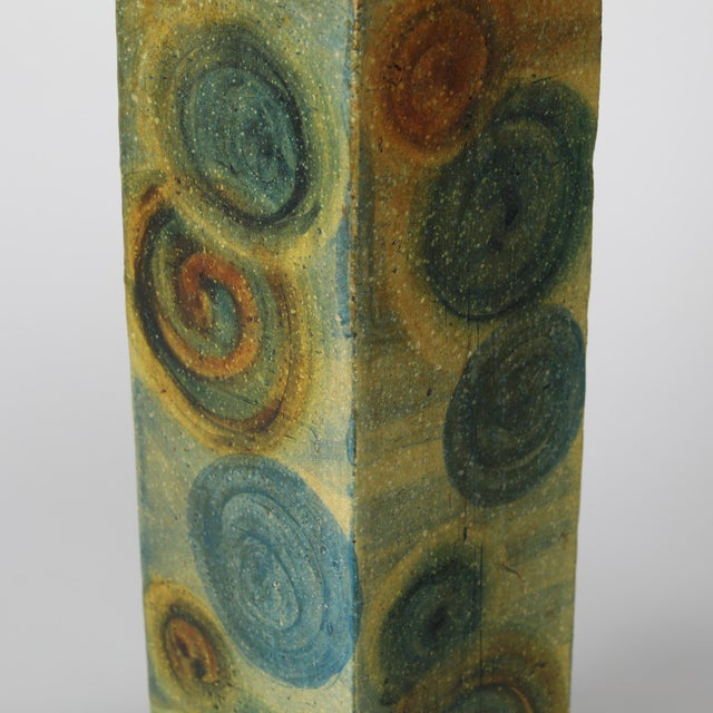 1960s 1960's Vintage Marcello Fantoni Ceramic Table Lamps- A Pair For Sale - Image 5 of 13