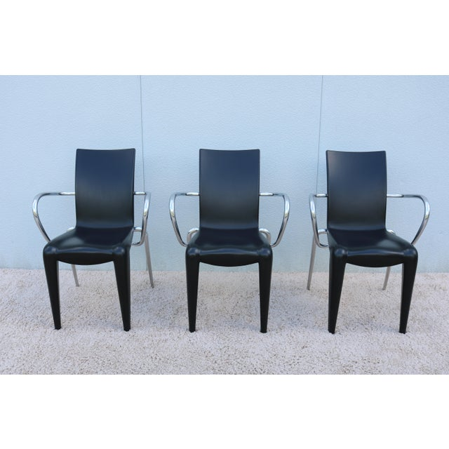 1990s 1997 Vintage Philippe Starck for Vitra Louis 20 Armchair For Sale - Image 5 of 13