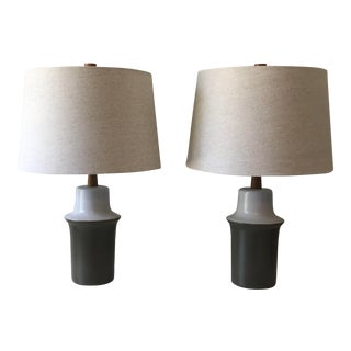 Jane and Gordon Martz Ceramic Table Lamps - a Pair For Sale