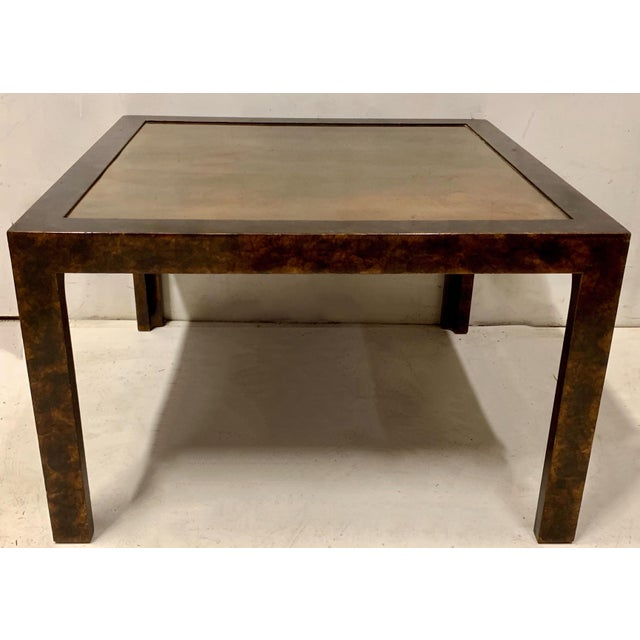 1970s John Widdicomb Modern Parsons Style Table For Sale - Image 5 of 6