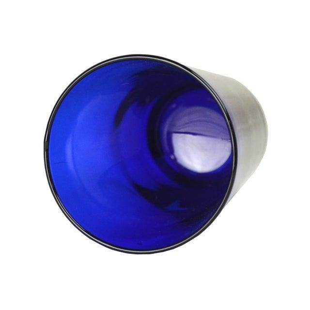 Vintage Cobalt Cocktail Glasses - 5 - Image 3 of 4