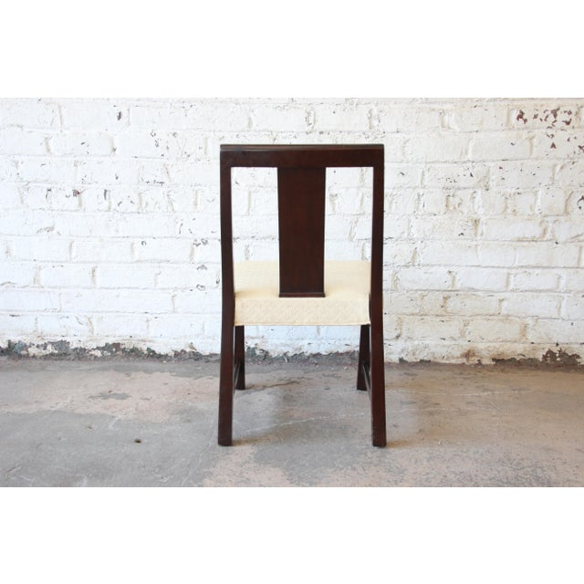 Edward Wormley for Dunbar Mid-Century Modern Dining Chairs, Set of 16 For Sale - Image 12 of 13