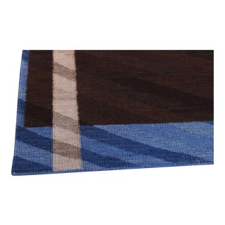 Swedish Flatweave in Custom Design Rug - 9' X 12'