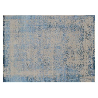 """Stark Studio Rugs Contemporary New Oriental Indian Rug - 10'1"""" X 13'10"""" For Sale"""