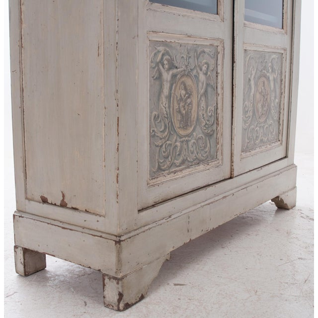 Italian Italian Early 20th Century Painted Bibliotheque For Sale - Image 3 of 10