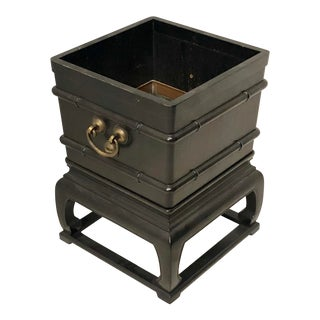 Asian Style Planter by Baker Furniture For Sale