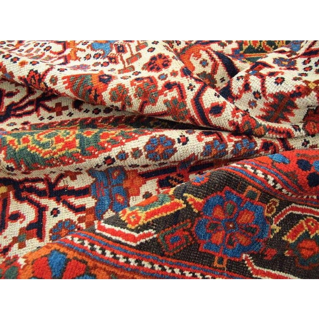 Textile Persian Afshar Tribal Rug For Sale - Image 7 of 8
