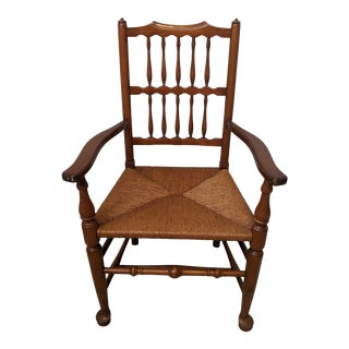 1930s L. & J. G. Stickley Early American Arm Chair For Sale
