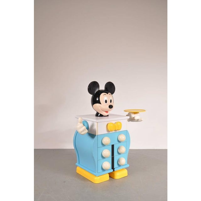 Mickey Mouse Cabinet by Pierre Colleu for Starform, France, circa 1980 - Image 4 of 9