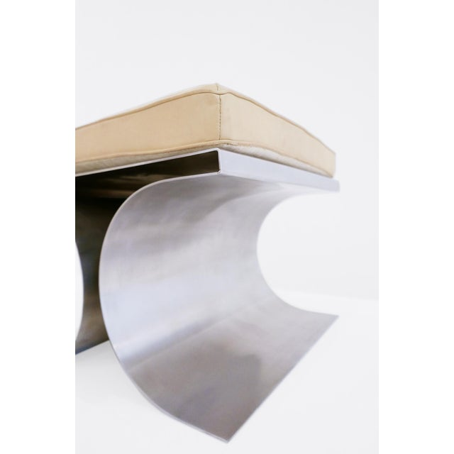 1960s Michel Boyer 'X' Stool, C. 1968 For Sale - Image 5 of 8