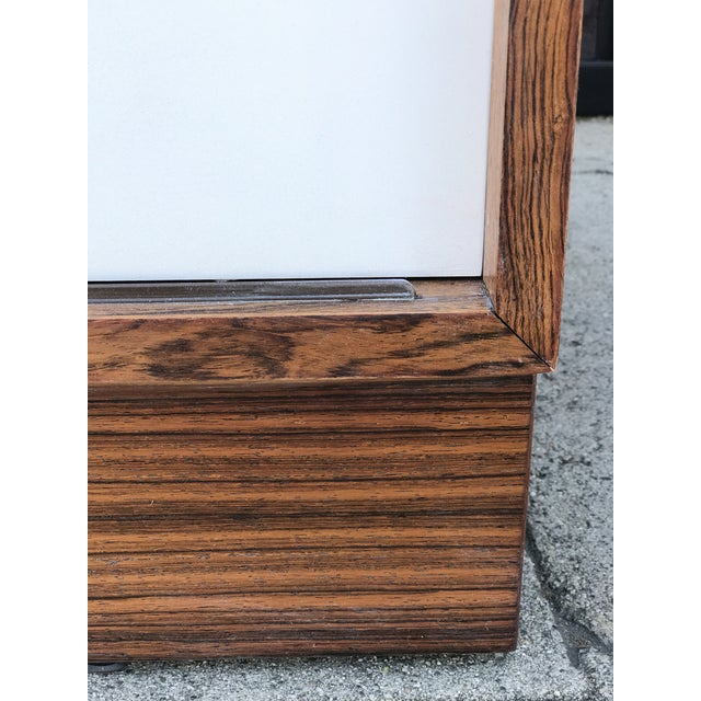 Lacquer Danish Media Console by Hundevad Denmark in Rosewood For Sale - Image 7 of 13