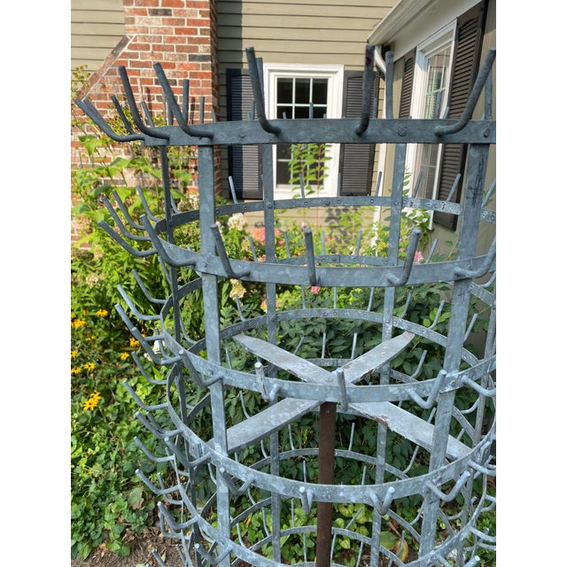 Monolithic Antique French Zinc Herisson For Sale - Image 4 of 7