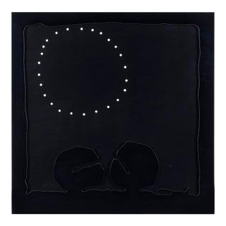 1968 Italian Lucio Fontana Concetto Spaziale Teatrini Shaped Cardboard