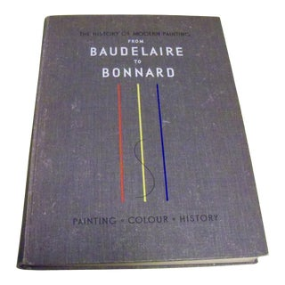 History of Modern Painting, 3 Volumes: From Baudelaire to Bonnard Book For Sale