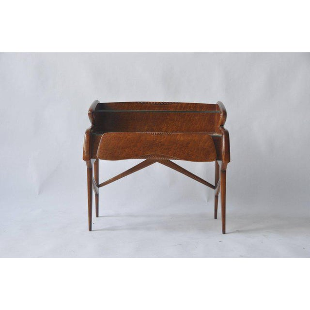 Wood Pair of 1950s Italian Nightstands For Sale - Image 7 of 10