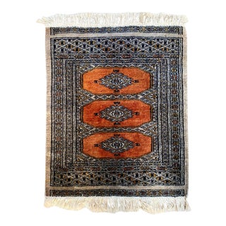 Antique Persian Wool Entryway Prayer Rug For Sale