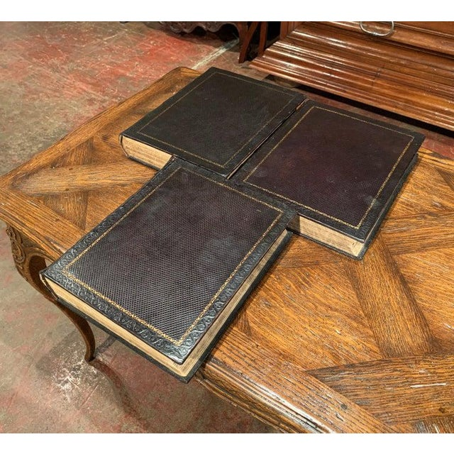 No library is complete without a classic, antique bible. This three-volume antique family devotional bible was written by...