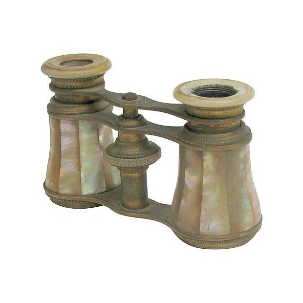 Antique French Mother-of-Pearl Opera Glasses - Image 4 of 6