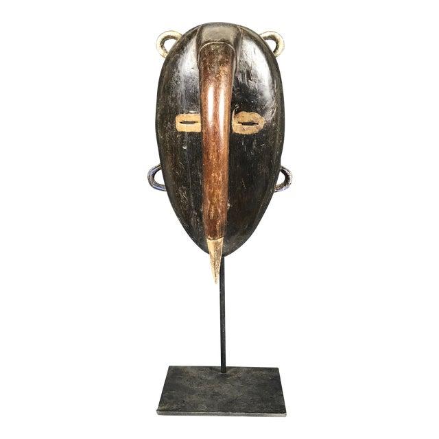 African Tribal Art Kulango Mask From Ivory Coast For Sale