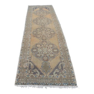 Turkish Oushak Runner Rug - 2′11″ × 10′2″