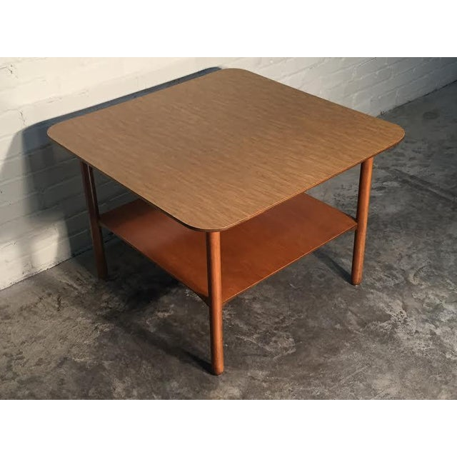 Mid-Century Modern Corner End Table - Image 2 of 10