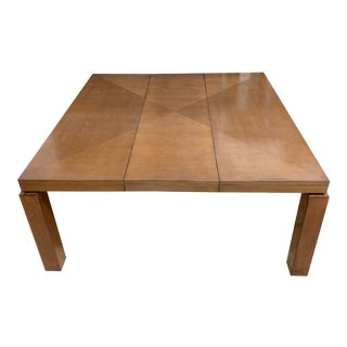 Walnut Extension Table + Leaf For Sale