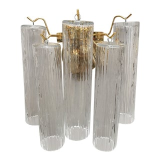 Murano Glass Wall Sconce For Sale