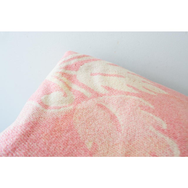 Orr Health Mauve Pink Wool Bohemian Throw Blanket - Image 4 of 5