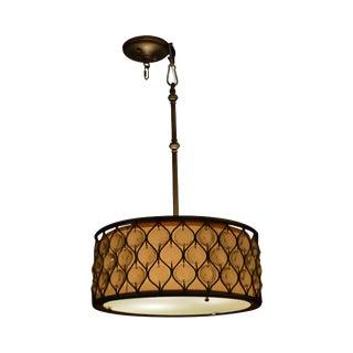 "Fine Arts Lamp 18"" Round Pendant Chandelier (C) For Sale"