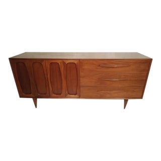 Large Mid-Century Modern Credenza For Sale