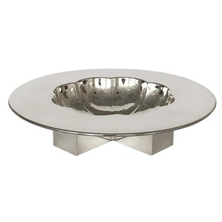 Postmodern Michael Graves Silver Plate Bowl for Swid Powell