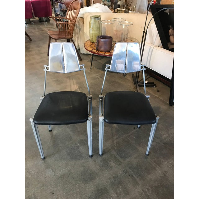 Mid-Century Modern 1970s Robert Josten Table & Chairs - Set of 3 For Sale - Image 3 of 10