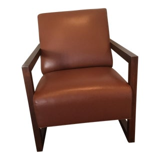 Leather Chair by Stickley For Sale