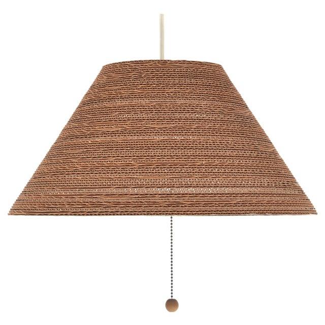 Gregory Van Pelt Corragated Cardboard Hanging Light For Sale - Image 9 of 9