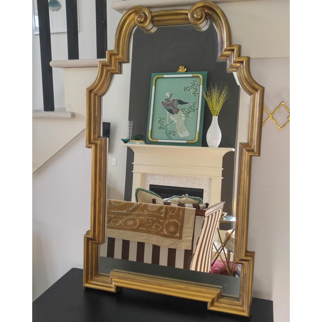 Hollywood Regency La Barge Style Mirror For Sale In Charleston - Image 6 of 9