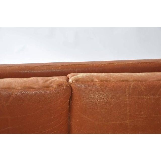 Fredrik Kayser Leather and Rosewood Sofa - Image 7 of 8
