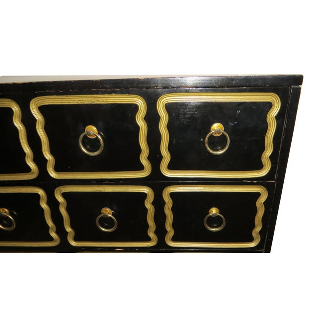 1950s 1950s Vintage Dorothy Draper Espana Style Chest of Drawers For Sale - Image 5 of 11