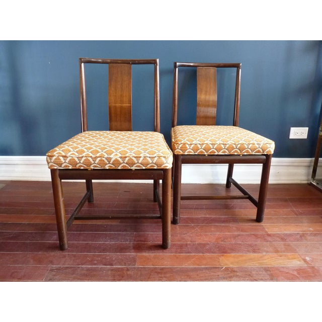 Asian Inspired Dining Chairs - A Pair - Image 2 of 11