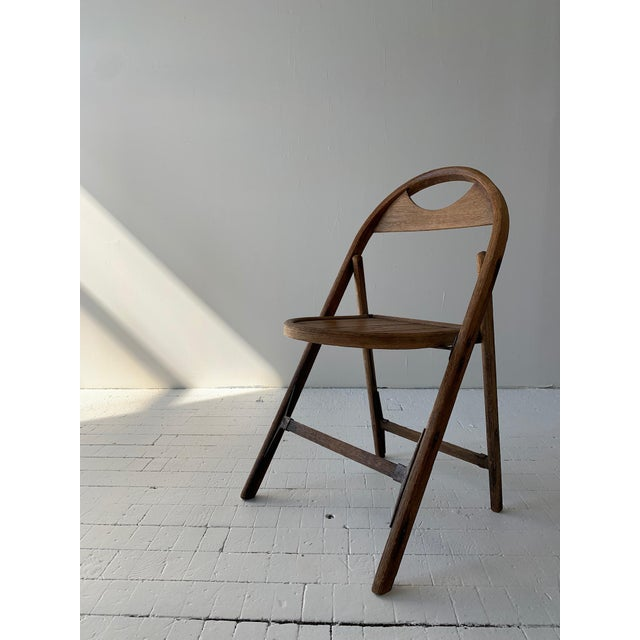1930s Bauhaus Bent Wood Folding Chairs - a Pair For Sale - Image 9 of 13