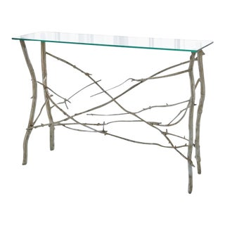 Contemporary Studio A Home Twig Console Table For Sale