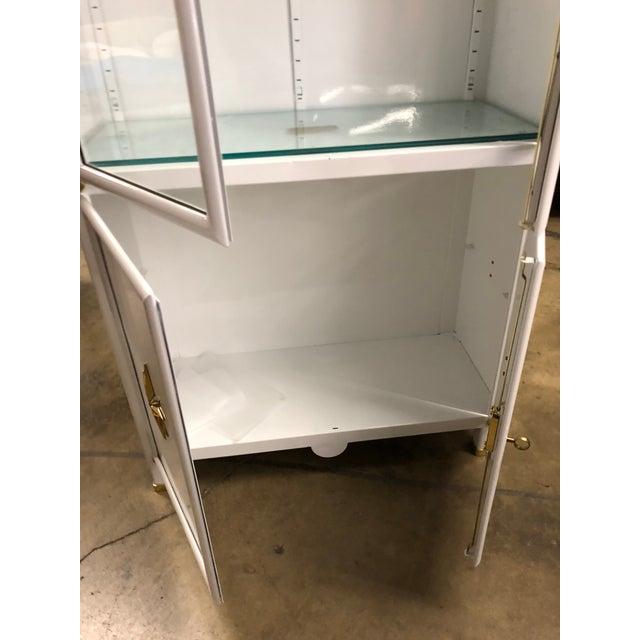 Modern Superb Pair of Vintage Metal Dental Cabinets - Restored For Sale - Image 3 of 7