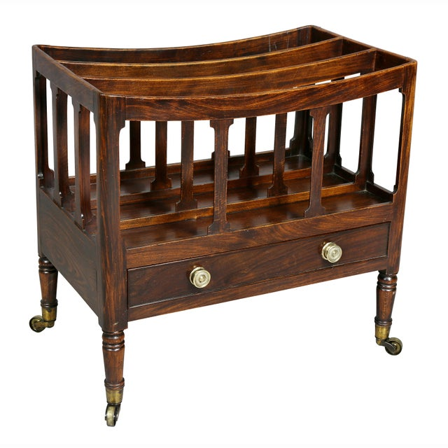 Regency Rosewood and Faux Rosewood Canterbury For Sale - Image 9 of 9