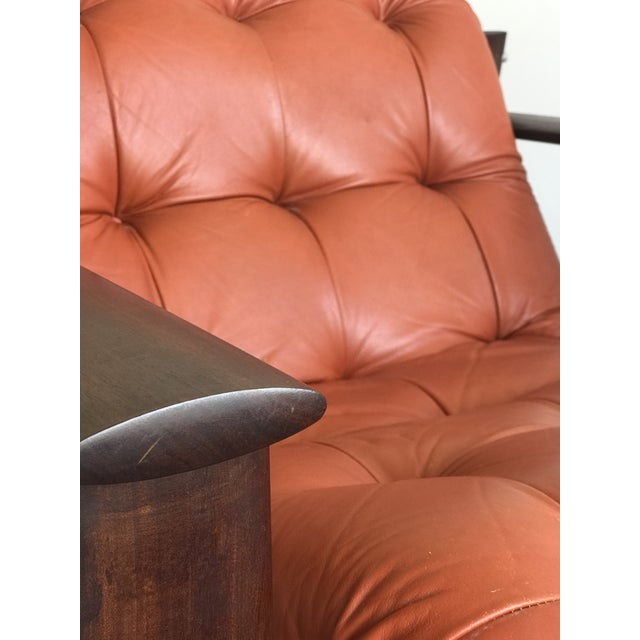 Percival Lafer Mid Century Modern Model Mp-129 Percival Lafer Lounge Chair For Sale - Image 4 of 11