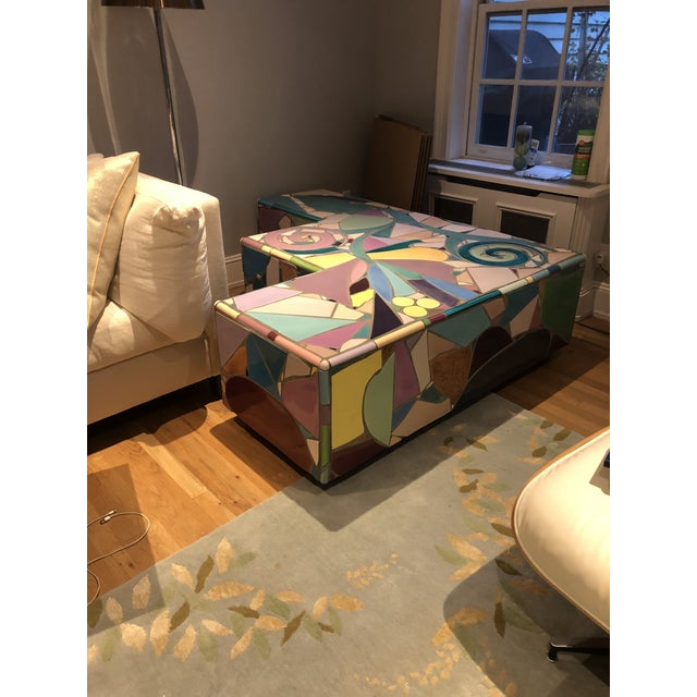 Mosaic Mosaic Coffee Table by Steve Chase For Sale - Image 7 of 8